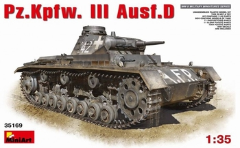 MA35169  Pz. Kpfw.III Ausf.D  1:35 kit