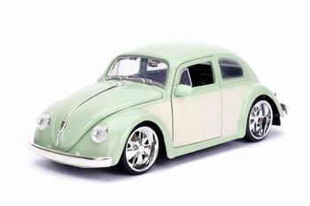 990183  Volkswagen Beetle 1959  Green Cream  1:24