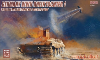 MC72092 Germany Rheintochter 1 movable Missile launcher  1:72 kit