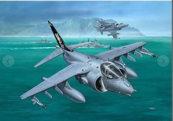 RE3887  BAe Harrier Gr.7  1:144 kit