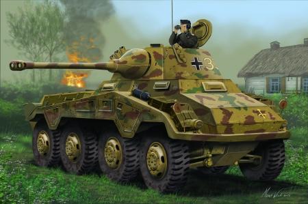 RE3288  Sd.Kfz. 234/2 Puma  1:76 kit