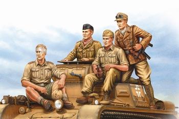 HB84409  German Tropical Panzer Crew  1:35 kit