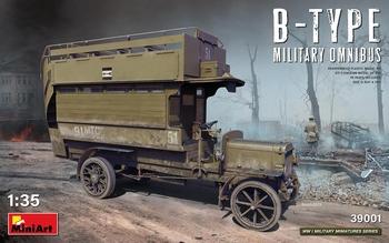 MA39001  B-Type Militairy Omnibus  1:35 kit