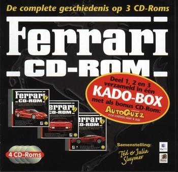 9827  Ferrari CDrom 4 set  CDrom
