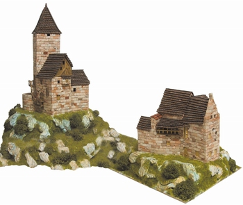 AE1301  HO Rural refuges  1:87 Kit
