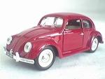 7586  Volkswagen Kever Sedan (rood) 1:43