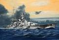 RE5136  Battleship Scharnhorst 1:1200 kit