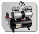 AS196  Airbrush mini compressor met luchttank