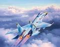 RE3948  Suchoi Su-27 Flanker 1:144 kit