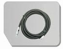 BD30-300  Airbrush slang zwart G1/8 - BD117 Snelkopp. 1/8: 3 meter