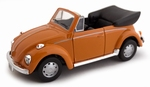 534378  Volkswagen Kever Cabriolet  oranje 1:43