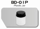 BD01P  Plastic verfpotje met deksel (per stuk) Fengda® 22 ml