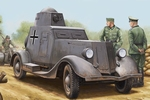 HB83884  Soviet BA-20M Armored Car 1:35 kit