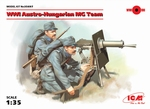 35697  WWI Austro-Hungarian MG Team (2 figures) 1:35 kit