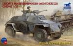 CB35013  Leichte Panzerspahwagen (MG) Sd.Kfz.221 1:35 kit
