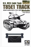 AFV35287  U.S. M24 Light Tank Chaffee T85E1 Track 1:35 kit