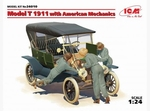 ICM24010  Model T 1911 with American Mechanics 1:24 kit