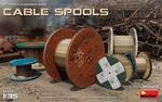 MA35583  Cable Spools 1:35 kit