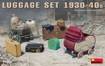 MA35582  Luggage Set 1930-40s 1:35 kit