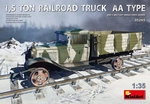 MA35265  1,5 Ton Railroad Truck AA Type 1:35 kit
