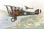 R054  Sopwith T.F.1 Camel Two Seat Trainer 1:72 kit