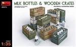 MA35573  Milk Bottles & Wooden Crates 1:35 kit