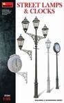 MA35560  Street Lamps & Clocks 1:35 kit