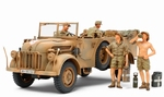 T35305  German Steyr Type 1500A/01 & Africa Corps Infantry A 1:35 kit