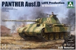 TA2104  Panther Ausf. D Late Production w/ Zimmerit 1:35 kit