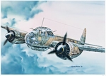 IT1018  Junker JU-88 A4 1:72 kit