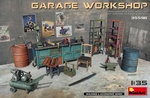 MA35596  Garage Workshop  1:35 kit