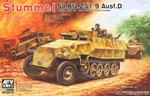 AFV35278  Sd.Kfz. 251/9 Ausf. D early type 1:35 kit