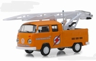 29960D  972 Volkswagen Type 2 Double Cab Pickup Ladder Truck 1:64
