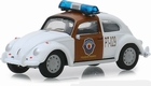 29960F  Chiapas Mexico Traffic Police Classic VW Beetle 1:64