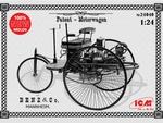 ICM24040  Benz Patent-Motorwagen 1886 1:24 kit
