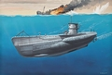 RE5093 Deutsches U-Boot TYPE VII C 1:350 Kit