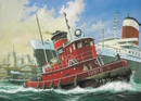 RE5207 Harbour Tug Boat  1:108 Kit