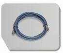 BD24-300  Airbrush slang zwart 300 cm -1/8 bi - 1/8 bi 3 meter