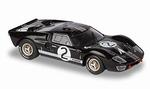 143424  Ford GT 40 Mk II 1966 (zwart) 1:43