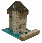 AE1053  Donjon De Crupet castle 1:100 Kit