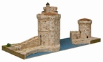 AE1267  La Rochelle harbour Towers 1:220 Kit