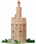 AE1260  Gold tower 1:100 Kit