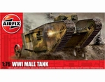 A01315  WWI Male Tank 1:76 kit