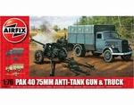 A02315  PaK 40 75mm Anti-Tank Gun & Truck 1:76 kit
